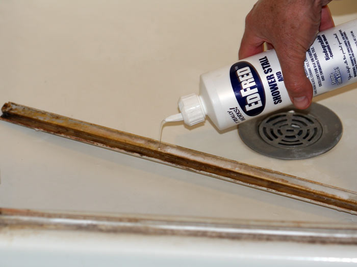 EDFRED Corp.   How To Clean A Shower Door & Repair Drip Sweep In